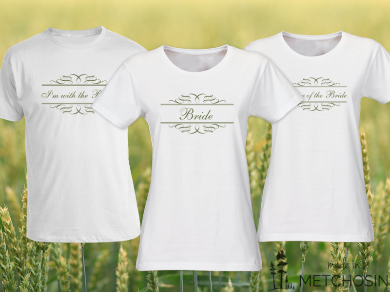 Bride T-shirt with Ribbons