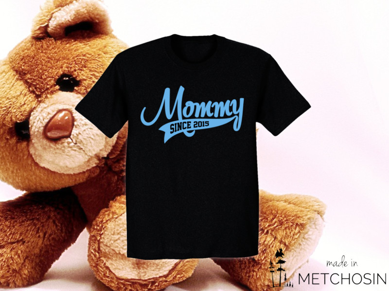 Mommy Since T-shirt with custom year