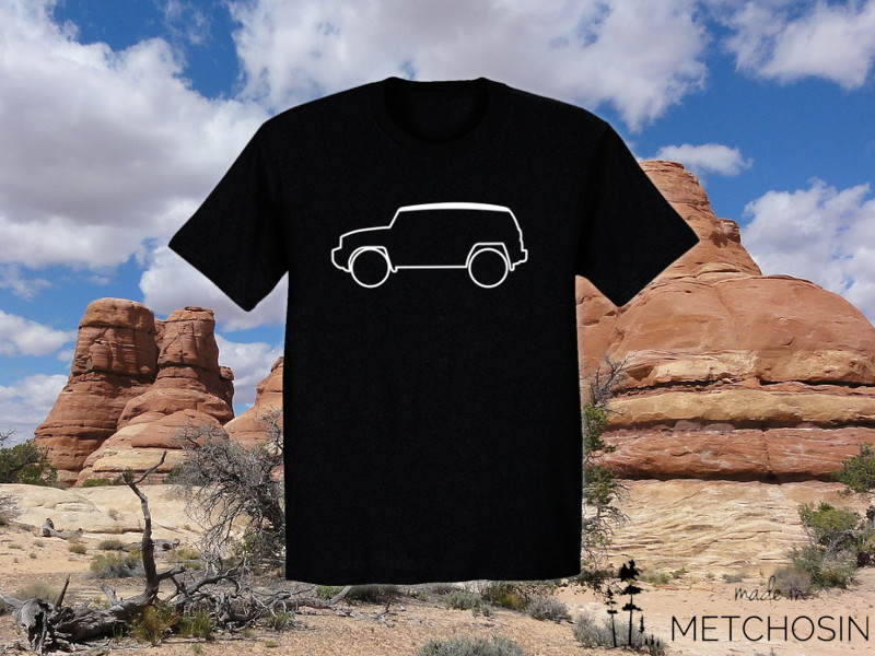 fj-cruiser-outline-t-shirt
