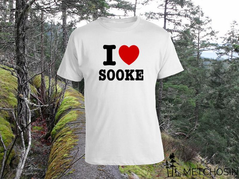 I Love Sooke T-shirt