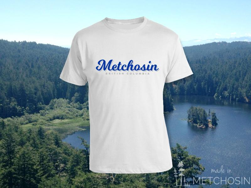 Metchosin British Columba white tshirt