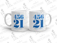 Address mug