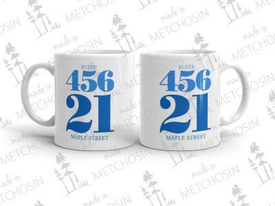 Address mug