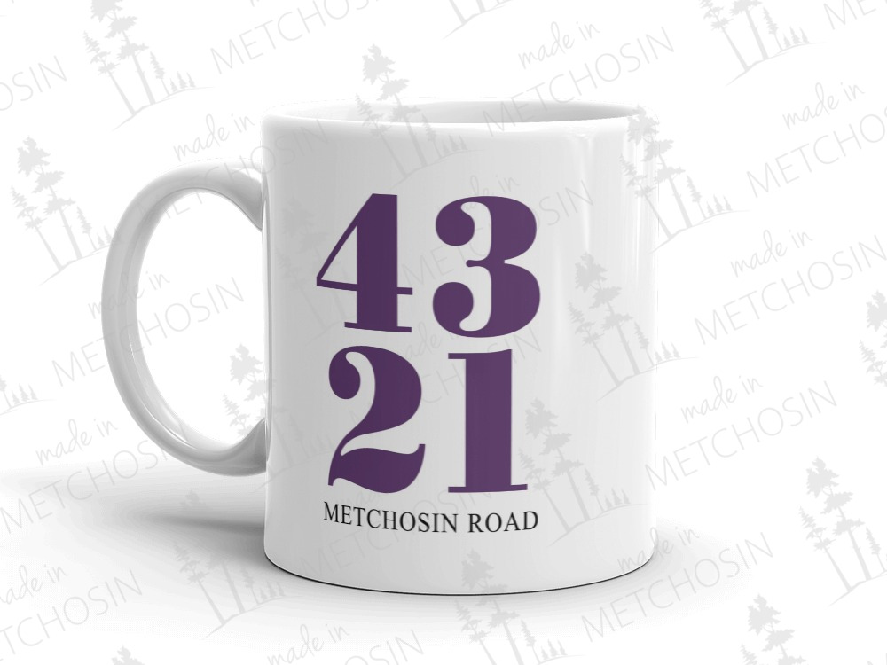 Mug with address