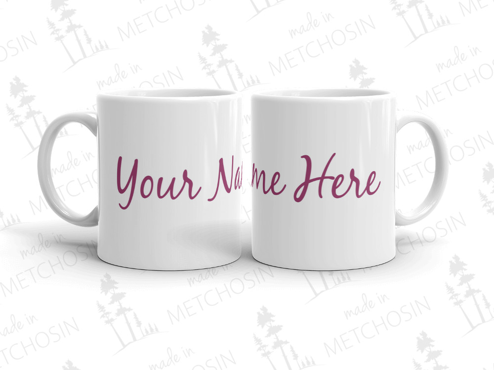 customized name mug