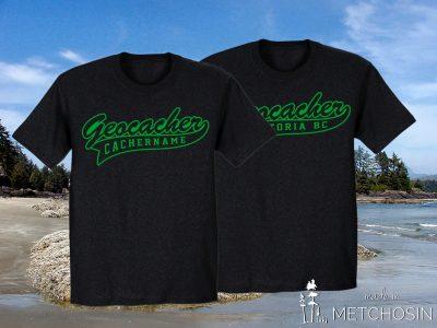 Customized geocacher tshirt