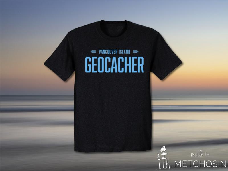 Vancouver Island Geocacher Tshirt