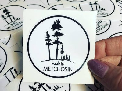 Made in Metchosin Sticker